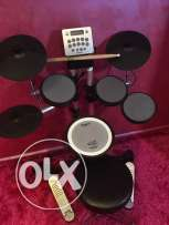 Roland Drum Set plus stool and drum sticks