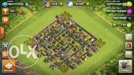 Clash of clans (th8 )