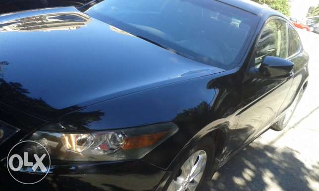 accord coupe 4cyl exl blk on blk clean البداوي -  2