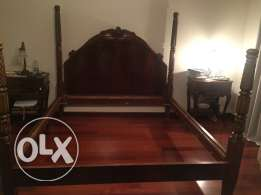 Charming double bed
