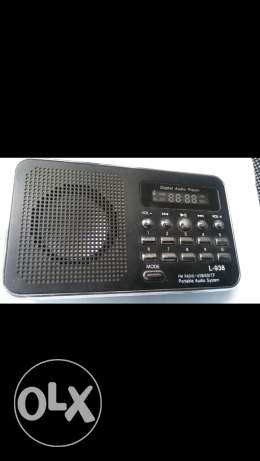 Mp3 fm radio digital audio player جديدة -  2