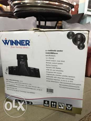 winner multimedia speaker system