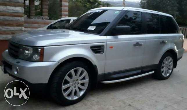 Range rover sport HSE 2008 ajnabeh excellent condition