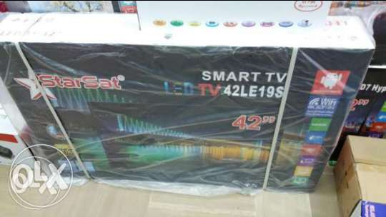 "Tv starsat 42"" smart only 240$"
