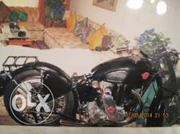 british bike matchless g3l model 1941 can exchange with classic car