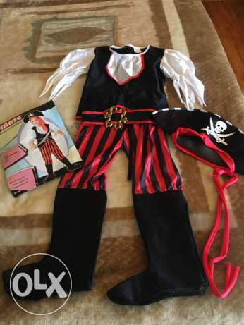 pirate children costume 4 pcs