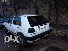 Golf gli syncro (4×4) model 1987 siyara ndife 3600$