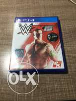 WWE2k15 for sale dood condition.ps4