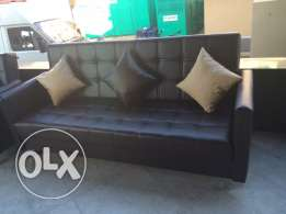sofa bed leather all colors