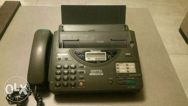 Panasonic phone and fax and copyer عرمون -  3