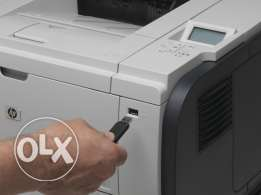 HP black officials laserjet printer up to 42ppm