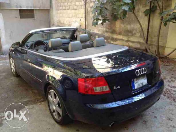 Audi A4 cabriolet 1.8T 2003 model for sale