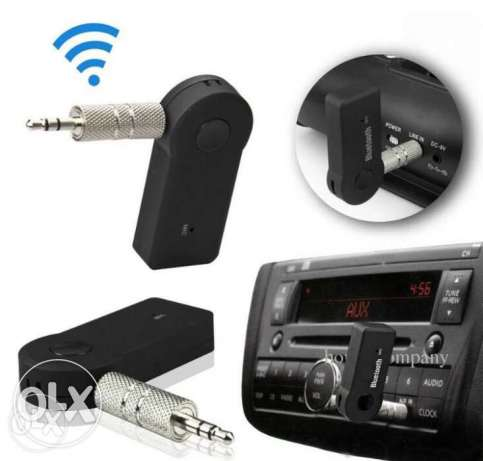 Universal Streaming Car Wireless Bluetooth AUX Audio Music Receiver A
