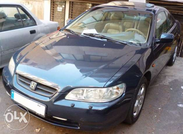 Honda Accord EX coupe special option
