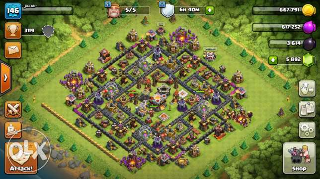 clash of clans town hall 11 for sale
