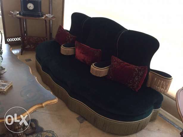 Victorian arm couch