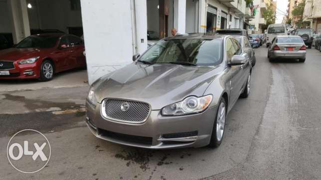 2009 Jaguar XF V6 3.0L Grey/Black Leather Company Source & Maintenance