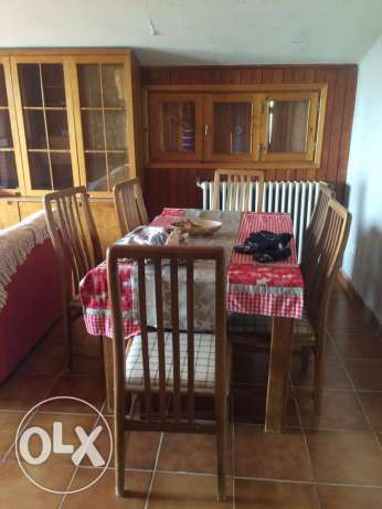 chalet for rent in cité 4 Oun El Simane 2 bedrooms living dining كسروان -  6