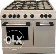 Technogas cooker-90 cm-New-Made in Italy