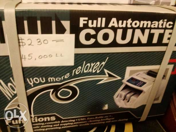 Full Money Counter and Detector