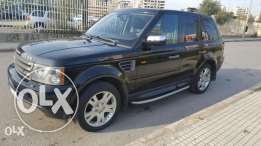 Range rover sport hse black in black full option