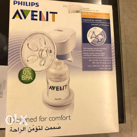 single electric avent breast pump barely used original price 200$