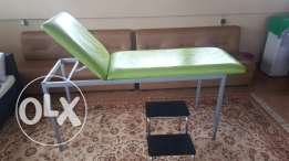 Chariot + escalier (medical examination couch)