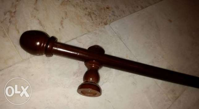 wooden curtain rod بعبدا -  1