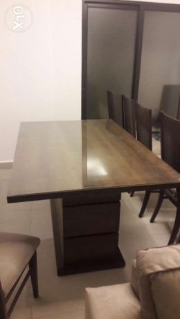 A brand new dining table with 8 chairs برج ابي حيدر -  2
