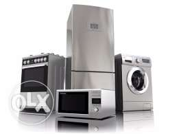 stainless home appliances offer with one year warranty