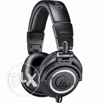 Audio Technica ath-m50x high end monitoring headset