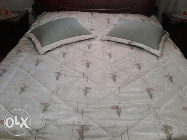 master bed coverly