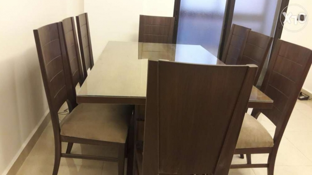 A brand new dining table with 8 chairs برج ابي حيدر -  3