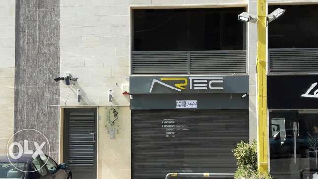Shop with 2 floors for rent in hadat antounieh