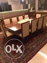 luxurious dining table