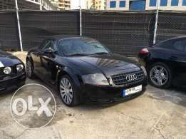 Audi TT 2001 Convertible Black in Good Condition!