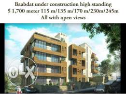 Baabdat 170 m under construction delivery 2017 panoramic views