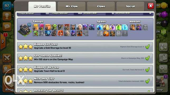 Clash of clans/Town hall 9