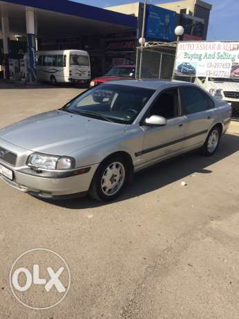 volvo s80 2002 sale or trade عجلتون -  8