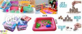 2 Kg Kinetic Sand in Box Set with Mould Set Random Colours for only 15