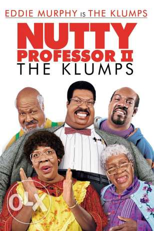 I want the movie of the nutty professor 1 and 2 for eddie murphy