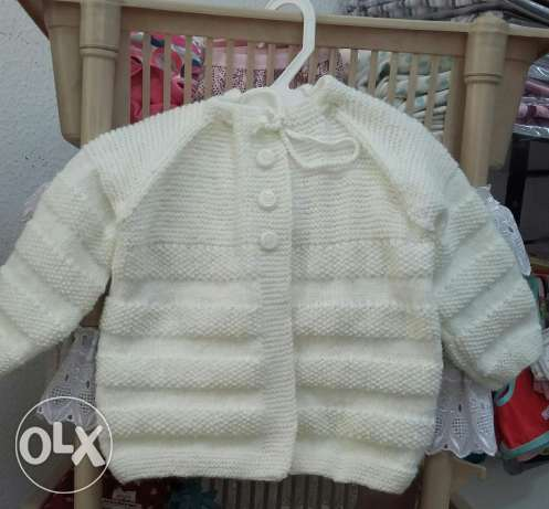 Clothing for new born Wool Cotton 100%