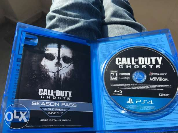 Exchange call of duty for PS4 with NBA for PS3