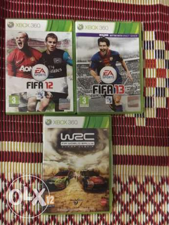 xbox 360 original cds for sale الشياح -  1