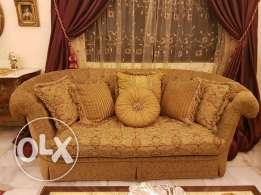 Sofa Plume 3 seaters