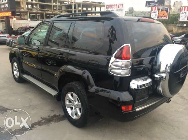 Toyota Prado VX 2009 Black Fully Loaded in Excellent Condition! بوشرية -  4