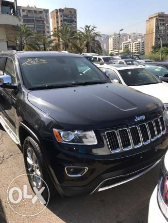 Jeep Grand Cherokee limited 2014 black