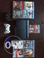 PS3 super slim 500 GB+ games+ controllers