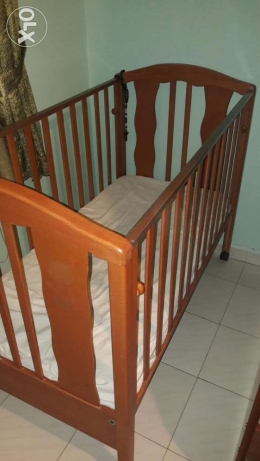 Baby bed for sale + free gift!! طبرجا -  1