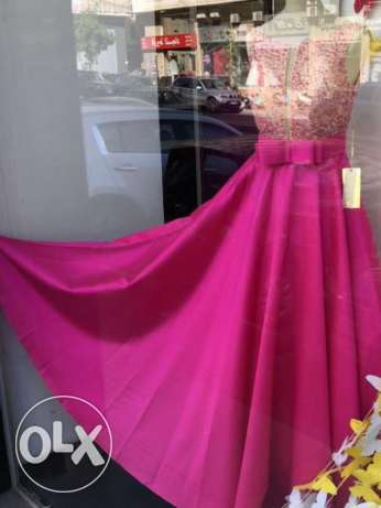 Engagement Dress Size 40-Almost new راس  بيروت -  1